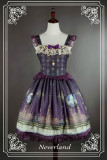 *Neverland*Arabian Nights lolita small flying sleeve beaded chain high-waisted JSK dress
