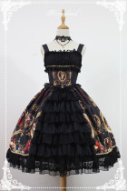 *Neverland*Fantasy Night Museum lolita printging JSK dress Version Ⅱ pre-order