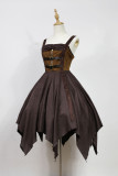 *Neverland*Pirate ship steam punk irregular hem lolita jsk dress pre-order