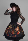 *Neverland*Flower-choosing Girl Long Sleeve Eyelash Lace One-piece
