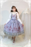 *Neverland*Gem swan normal waist lolita JSK dress pre-order