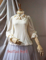 SurfaceSpell ~Bourbon Dynasty~ Classic chiffon loose-fitting two-purpose shirt