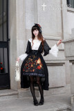 *Neverland*Flower-choosing Girl lolita high waist skirt