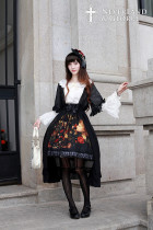 *Neverland*Flower-choosing Girl Long Chiffon Overskirt