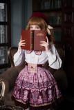 *Neverland*Chocolate Bear Chocolate Bear print lolita skirt