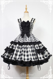 *Neverland*Christmas half sugar pure cotton adjustable lolita jsk dress pre-order