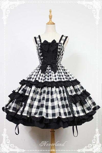 *Neverland*Christmas half sugar pure cotton adjustable lolita jsk dress pre-order