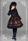 *Neverland*Pick flowers girl print lolita jsk dress with Pectoral flower bead bethanath