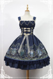 *Neverland*Raphael's singing beaded chain normal waist line Lolita jsk dress pre-order