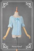 *Neverland*Cannelés summer love spot short sleeve shirt