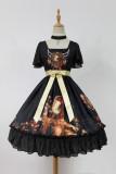 *Neverland*Song of Time Lolita short sleeved normal waist op dress pre-order