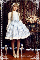 *Neverland*Time and space guardians lace cross lolita jsk dress