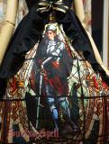 SurfaceSpell ~Knife-wielding saint~Digital print high waist lolita JSK dress