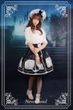 *Neverland*Starlit Aquarius chiffon print lolita skirt