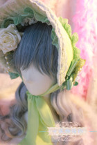 【Night Tales】Lolita headdress Court style lolita bonnet