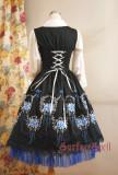SurfaceSpell ~Rose-dance~Gothic original embroidered jsk dress