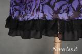 *Neverland* The butterfly cemetery high waist hime lolita op dress