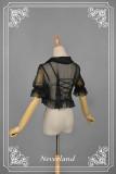 *Neverland*Crystal shell Transparent chiffon shirt