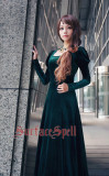 SurfaceSpell ~War and peace  Simple and elegant velvet long dress