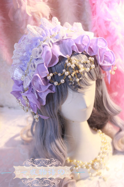【Night Tales】The secret garden of the goblins lolita headband