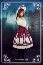 *Neverland*Starlit Aquarius lolita lace jsk dress