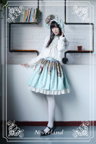 *Neverland*Madonna cross series normal waist lolita skirt