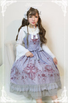 *Neverland*Gem swan normal waist lolita JSK dress pre-order