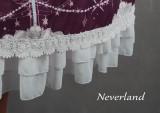 *Neverland*Starlit Aquarius stand collar Detachable sleeve lolita op dress
