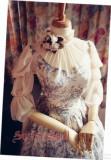 Surface spell~lady in Darkness  Dark grain  lolita op dress