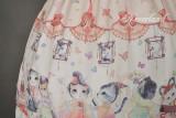*Neverland*Chinese Walking Cat Halter Jumper skirt