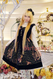 SurfaceSpell ~ Musical Instruments Prints Lolita Jumper Dress