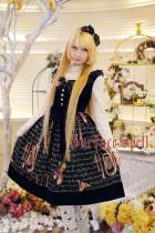 SurfaceSpell ~ Musical Instruments Prints Lolita Jumper Dress