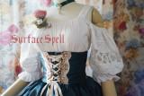 SurfaceSpell ~Alpenrose~ Ethnic style large foam sleeve shirt