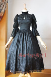 Surface spell~lady in Darkness  Dark grain  lolita op dress
