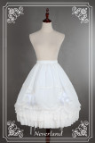 *Neverland*Gorgeous lolita chiffon lace petticoat