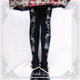 【Ruby rabbit】Thorns corolla print lolita tights