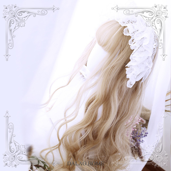 ★Anlya★65cm+Water wave curly lolita wig
