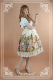 *Neverland*Song of Skylark flying sleeve countryside lolita dress