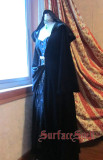 SurfaceSpell ~VELVET EDEN~Goth velvet witch robe windbreaker