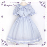 Sweet tooth hurts~5 colors short sleeves lolita dress