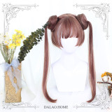 ★Dango★30cm Base + 2 Removable Ponytails Lolita Wig