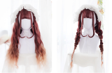 ★Dolores★65cm+Gradient water wave curly lolita wig