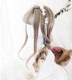 ★Olivia★65cm+Air banged lolita wig