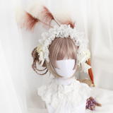 ★Sucie★30cm Base+2 Removable Ponytails Wig