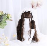 ★Miss seeger★65cm+Egg  rolls long Lolita Wig