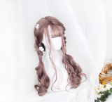 ★Dolles★65cm+Long Curly Air Banged Lolita Wig