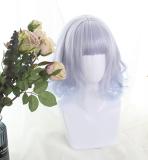 ★Lilys★35cm+Roman rolls gradients  Lolita Wig