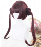 ★Dango★30cm Base + 2 Removable Ponytails Lolita Wig