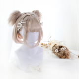 ★Joycelin★35cm Base water wave wig +2 Removable Ponytails