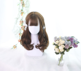 ★Dabria★55cm+Medium length curly lolita  wig
